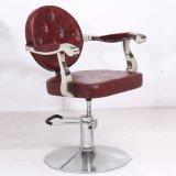 절단 역 의자 이발소용 의자를 유행에 따라 디자인 하는 빨간 살롱 의자