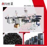 HDPE PPR Profil-Plastikrohr-Produktions-Extruder-Strangpresßling-Zeile