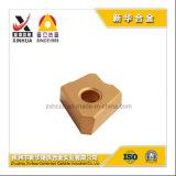 Zhuzhou에서 Zcec를 위한 CNC에 의하여 주문을 받아서 만들어지는 절단 삽입