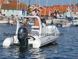 Liya 19FTの新しいモデルの乗客旅行のガラス繊維の肋骨のボート(HYP580)