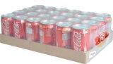 Film de PE de rétrécissement de la chaleur pour des bouteilles avec le plateau
