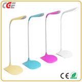 Heiße verkaufenMorden drahtlose LED dekorative Tisch-Lampe, 5 Stufen Dimmable LED Schreibtisch-Lampe, faltbare LED-Bett-Leselampe