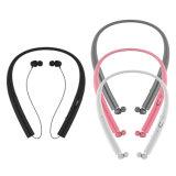スポーツのNeckbandの引き込み式のBluetoothのヘッドセットのBluetoothのイヤホーン