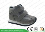 Brown/Gris chaussures de course pour les enfants Les enfants Sports orthopédiques Chaussures en cuir