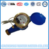 Interruptor de Palheta de jatos múltiplos medidores de água de transmissão de dados DN15-DN25