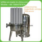Edelstahl-Filtergehäuse-Hochleistungskassetten-Behälter Soem-10 '' 20 '' 30 '' 40 '' 50 ''