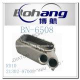 Cubierta del refrigerador de petróleo de Nissan Rd10 del recambio del motor de Bonai (21302-97002)