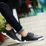 Ботинки Breathable людей ботинок людей вскользь выдалбливают обувь 2017 выходов мыжскую