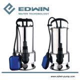Nettoyer le jardin d'eau pompe submersible