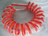 Extrusora de plástico de alta eficiência para tubo de gás de PU