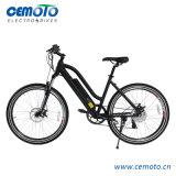 26 bicicleta elétrica/Ebike da polegada MTB com a bateria escondida metade para mulheres