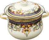 Het Email van het Gietijzer om Cookware/de Pot van de Soep met Beste Prijs
