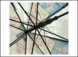 가득 차있는 주문 인쇄 자동 철회 가능한 Armazon 좋은 품질 우산