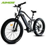セリウム公認36V 350Wの安い脂肪質のタイヤの電気バイク