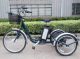 Трицикл груза колеса Bike 3 велосипеда 3 колеса сплава электрическим моторизованный колесом