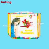 Hersteller nichtgewebte Spunlace freie Panty Zwischenlage-Oberflächenproben