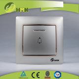Gruppo variopinto del piatto certificato CE/TUV/CB 1 di standard europeo con l'interruttore BIANCO di spinta del LED Bell