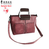 De Handtassen van de Dames van de Manier van Handbgas van het Leer van de Ontwerper Pu van de Fabriek van Guangzhou