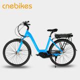 велосипеда города мотора E-Bike колеса 700c Bike СРЕДНЕГО электрический раскрыл