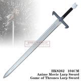 Jogo da espada 104cm HK8262 de Larp dos tronos