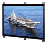 De façon économique robuste militaire 17 pouces écran LCD haute luminosité