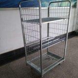Rollenbehälter-/Roll-Rahmen-Stahlrollenbehälter-Laden 500kgs- des Fabrik-Preis-Stahltransport-4 seitliches