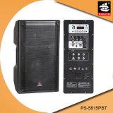 15 Spreker ps-5815PBT van Bluetooth van de FM van de AMPÈRE USB BR van de duim de PRO60W Digitale Plastic Actieve