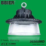 UFO comercial de la lámpara de Philips de la alta de la bahía del LED 100W de la luz fábrica industrial del almacén