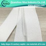 China papel absorbente para almohadilla sanitaria Sap de alta calidad de la fábrica de papel