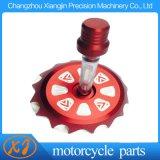 Tampão de gás de alumínio SSR da bicicleta ATV da sujeira do CNC Coolster