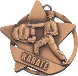 Medaglie di sport, medaglie di karatè, medaglie su ordinazione, medaglie d'inscatolamento, medaglie del metallo, medaglie in lega di zinco