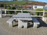 옥외 훈장을%s 싼 화강암 정원 또는 공원 또는 쇼핑 센터 돌 벤치 또는 의자 및 테이블