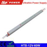 alimentazione elettrica ultrasottile di 12V 5A LED con le Htb-Serie di RoHS del Ce