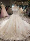 Классический дизайн Aolanes свадебные платья с шампанским кружевной цветок