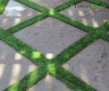 Le syndicat de prix ferme dégrossit pelouse artificielle d'herbe synthétique ornementale de gazons pour les Chambres à la maison