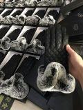 有名なブランド様式のRexのウサギの毛皮および羊皮の手袋