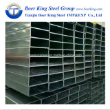 Tubo d'acciaio saldato galvanizzato tuffato quadrato/rettangolare/tubo caldo/sezione vuota/Shs/Rhs