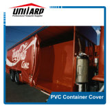 Strong 1000d Heavy Duty PVC Vinyl Cover Container, Side Curtain