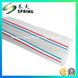 Blauer Belüftung-Plastikstahldraht-verstärkter Wasser-hydraulischer industrieller Abflussrohr-Schlauch