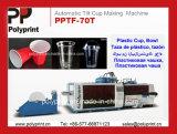 Горячее формование машины для PP, ПЭТ, PS чашки с наклоном (пресс-форм PPTF-70)