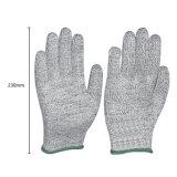 Cortar luvas protetoras de trabalho das vendas quentes da fábrica das luvas da segurança resistente