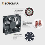 Ventilador axial de enfriamiento de la C.C. de las láminas plásticas de la ventilación (SF12025)
