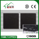 Schwarze Farben-schalldichte Glasfaser-Decken-Fliese