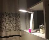 Современный складной аккумулятор затемнение цвет индикатора LED лампой для чтения