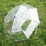 熱い傘安い雨PVC Foldable透過傘