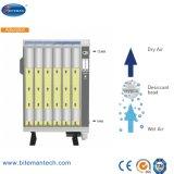 secadores a ar comprimidos da adsorção Heatless da remoção de 1500cfm 5%