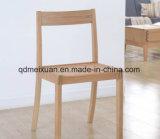 Das Eichen-feste Holz, das Stuhl-modernen speisenden Stuhl-Computer speist, sitzt ledernen Stühlen vor (M-X2502)