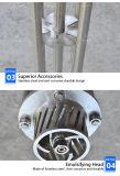 Saintaryのステンレス鋼のクリームのための高いせん断の混合ヘッド