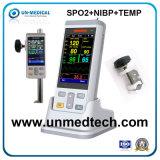 Новый монитор физиологического портативного устройства с креплением для стойка IV