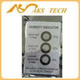 El 5% - 10% al 60% de humedad Control de cambio de color Tarjetas indicadoras